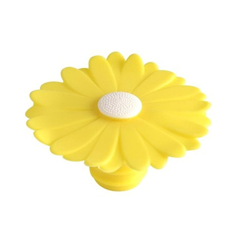 Charles Viancin Daisy Bottle Stopper - Yellow Daisy (3799)