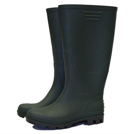 Town and Country Essentials Full Length Wellington Boots - Green - 4 (TFW819)