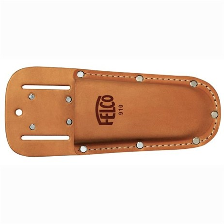 Felco No.910 Leather Holster with Belt Loop & Clip