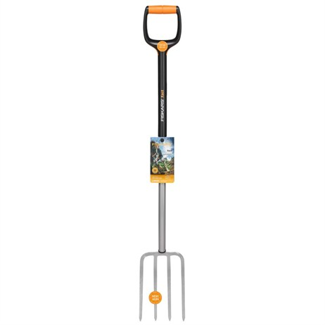 Fiskars Xact™ Soil Work Fork - Large (1003685)
