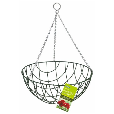 Gardman Traditional Hanging Basket - 35cm (14inch) (01025)