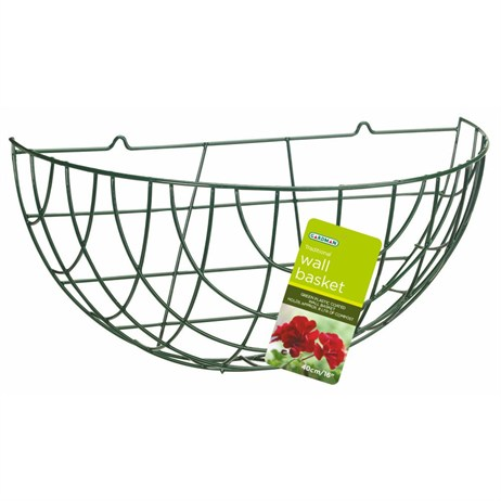 Gardman Traditional Wall Basket - 40cm (16inch) (01060)