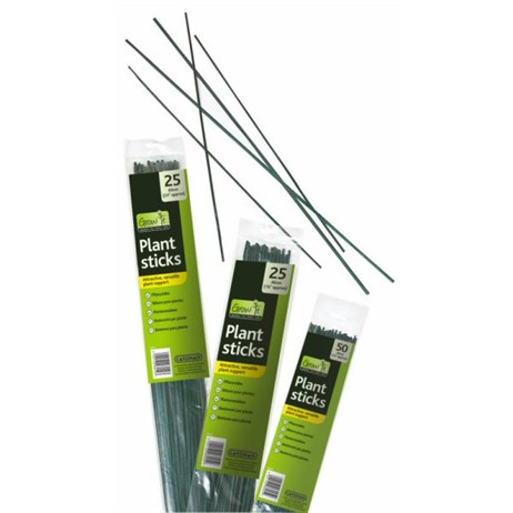 Gardman Plant Sticks - 40cm (Pack of 25) (08005)
