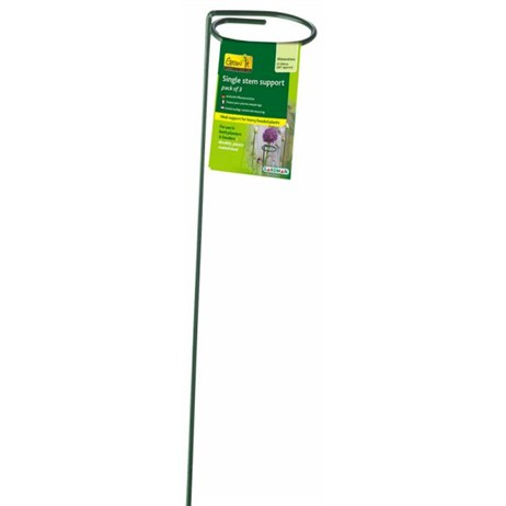Gardman Single Stem Support - 1m (Pack of 3) (07372)
