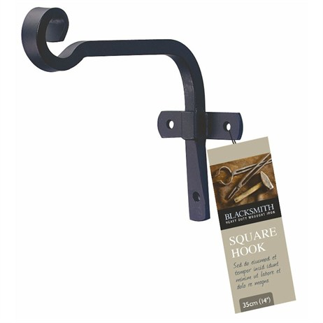 Gardman Blacksmith Square Hook - 15cm (6inch) (01225)