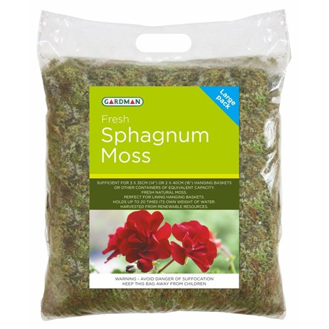 Gardman Fresh Sphagnum Moss - Large Pack (04105)