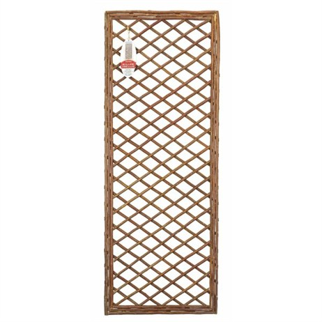 Gardman Framed Willow Trellis Panel - 1.2m x 0.45m (07521)