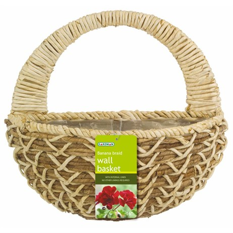 Gardman Banana Braid Wall Basket - 40cm (16inch) (02973)