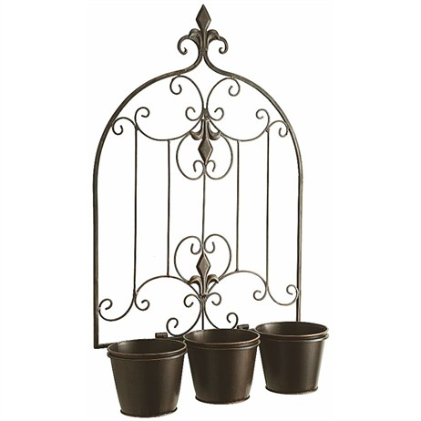 Gardman Versailles Triple Pot Wall Planter (08255)