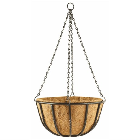 Gardman Blacksmith Hanging Basket - 40cm (16inch) (01410)