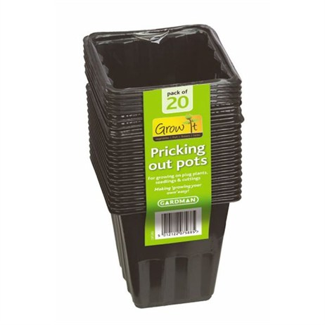 Gardman Pricking Out Pots (20 pack) (08580)