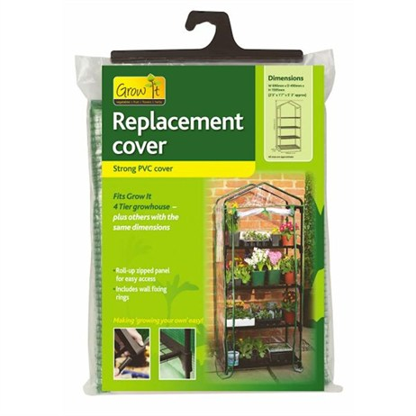 Gardman Replacement Cover for 4 Tier Growhouse - PVC (08711)