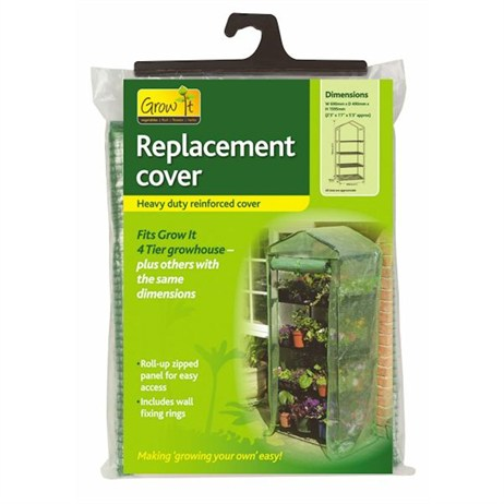 Gardman Replacement Reinforced Cover for 4 Tier Growhouse (08717)