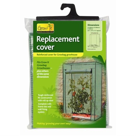 Gardman Replacement Reinforced Cover for Growbag Growhouse (08723)
