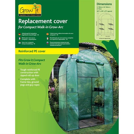 Gardman Cover for Compact Walk-in Grow Arc - PE (08940)