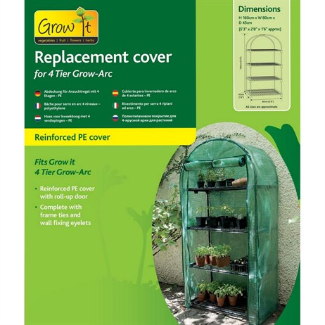 Gardman Cover for 4 Tier Grow Arc - PE (08948)