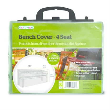 Gardman Standard 1.8m (6ft) 4 Seater Bench Cover (32211)
