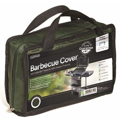 Gardman Premium Wagon/ Trolley Barbecue Cover - Green (34380)