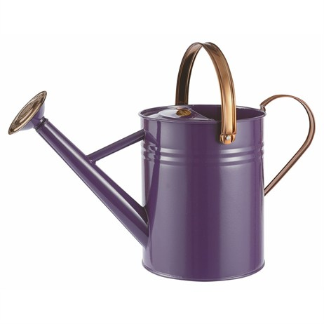 Gardman 4.5L (1 Gal) Metal Watering Can - Heritage Heather (34881)