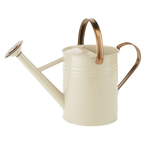 Gardman 4.5L (1 Gal) Metal Watering Can - Heritage Cream (34898)