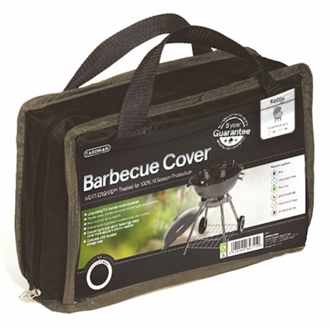 Gardman Premium Kettle Barbecue Cover - Black (35670)