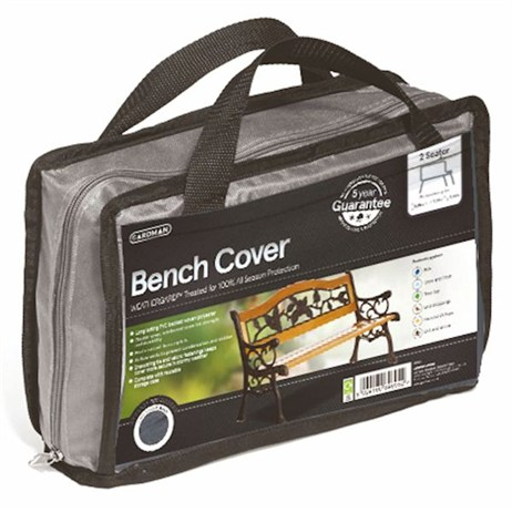 Gardman Premium 1.2m (4ft) 2 Seater Bench Cover - Grey (35930)