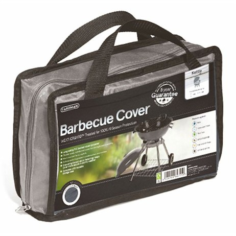 Gardman Premium Kettle Barbecue Cover - Grey (35970)