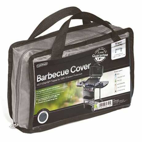Gardman Premium Wagon/ Trolley Barbecue Cover - Grey (35980)