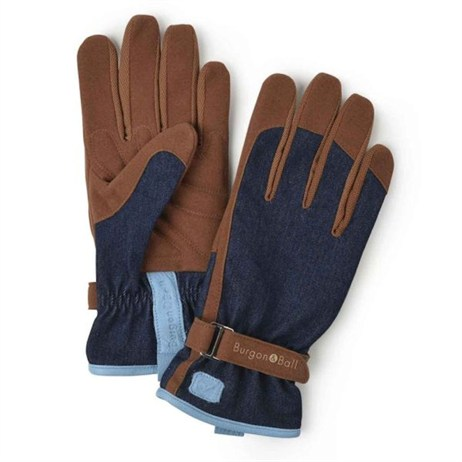 Burgon & Ball Ladies Love The Glove - Denim M/L (GLO/DENIMML)