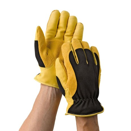 Gold Leaf Winter Touch Gloves Mens