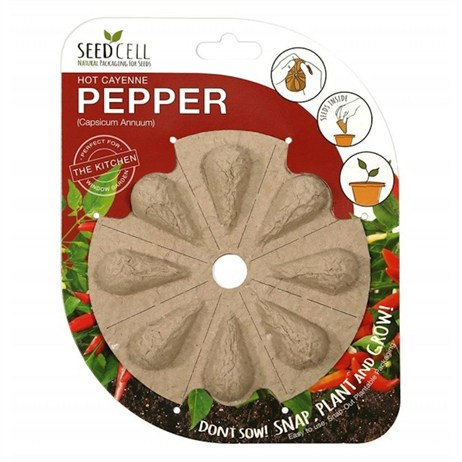 Seedcell Cayenne Chilli Pepper