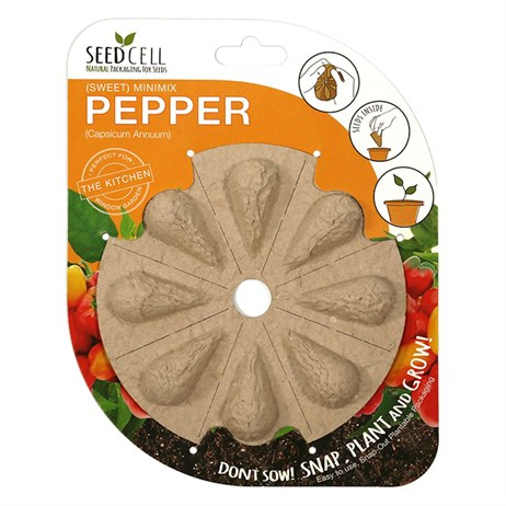 Seedcell Mini Mix Sweet Pepper