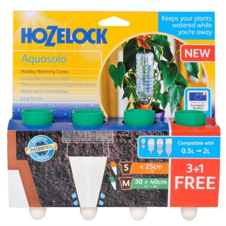 Hozelock Aquasolo 3 Cones + 1 FOC Green (for pots up to 16) (2717)