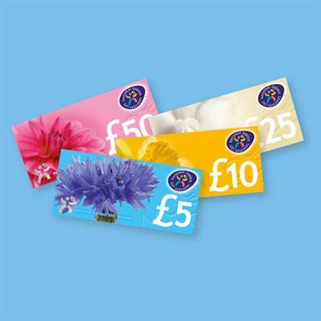 Discontinued - HTA £5 National Garden Gift Voucher