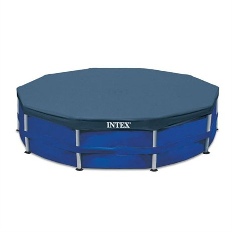 Intex Swimming Pool Cover for 10ft x 10in Round Metal Frame (28030)