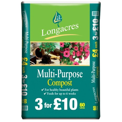 Longacres Multi Purpose Compost 60L (018945)