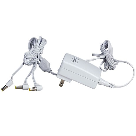 Lemax Christmas - White UK 4.5V Power Adaptor with 3 Outlets (64517)