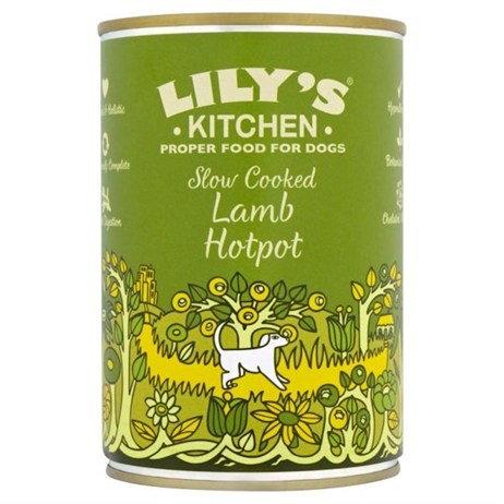 Lily's Kitchen Slow Cooked Lamb Hotpot Wet Dog Food 400g