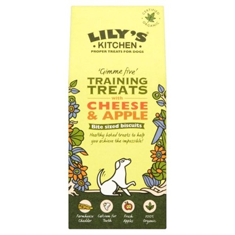 Lily's Kitchen Organic Cheese & Apple Training Dog Treats 100g