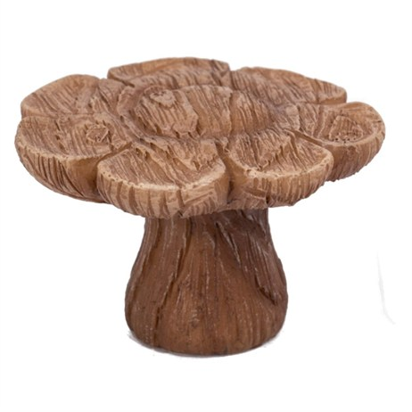 Vivid Miniature World Wooden Flower Table (MW03-001)