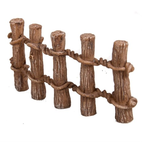 Vivid Miniature World Wooden Post Fence (MW03-023)