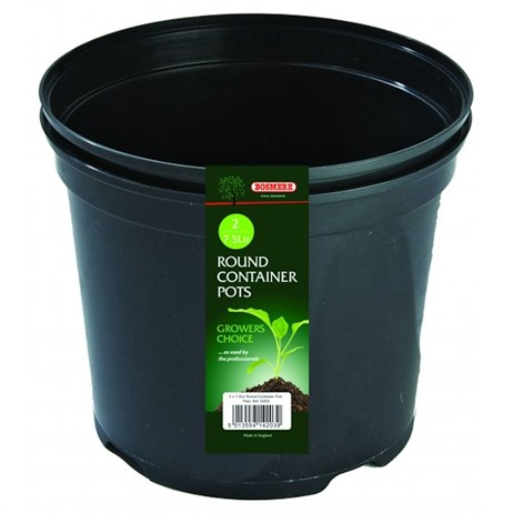 Bosmere Round Container Pot (2) 7.5L (N203)