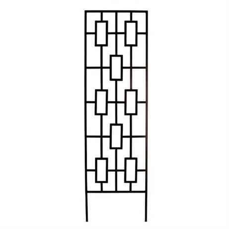 Panacea Contemporary Trellis - Black (84447)