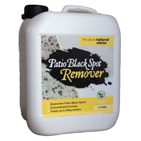 Patio Black Spot Remover 4 litres for Natural Stone