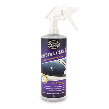 Greased Lightning 1L Crystal Clear Glass & Mirror Cleaner & Protector (R302)