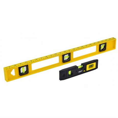 Rolson 2 Piece Level Set 600mm and 210mm (54472)