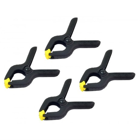 Rolson 4 Piece Spring Clamp Set 90mm (60350)