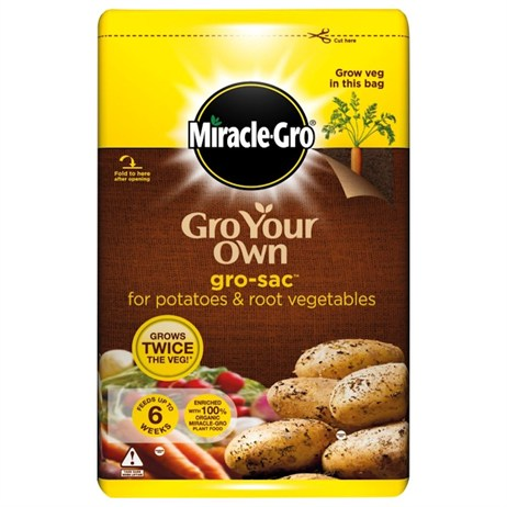 Scotts Miracle-Gro® Gro Your Own Gro-Sac™ for Potatoes and Root Vegetables 60L (017991)