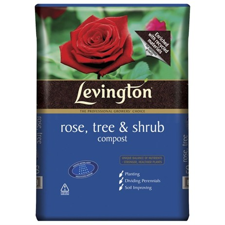Scotts Levington® Rose, Tree and Shrub Compost 50L (118009)