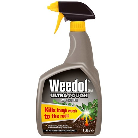 Weedol Gun! Ultra Tough Ready-To-Use Weedkiller 1L (013155)